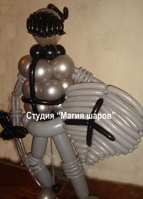 Квадроцикл из шаров своими руками 36