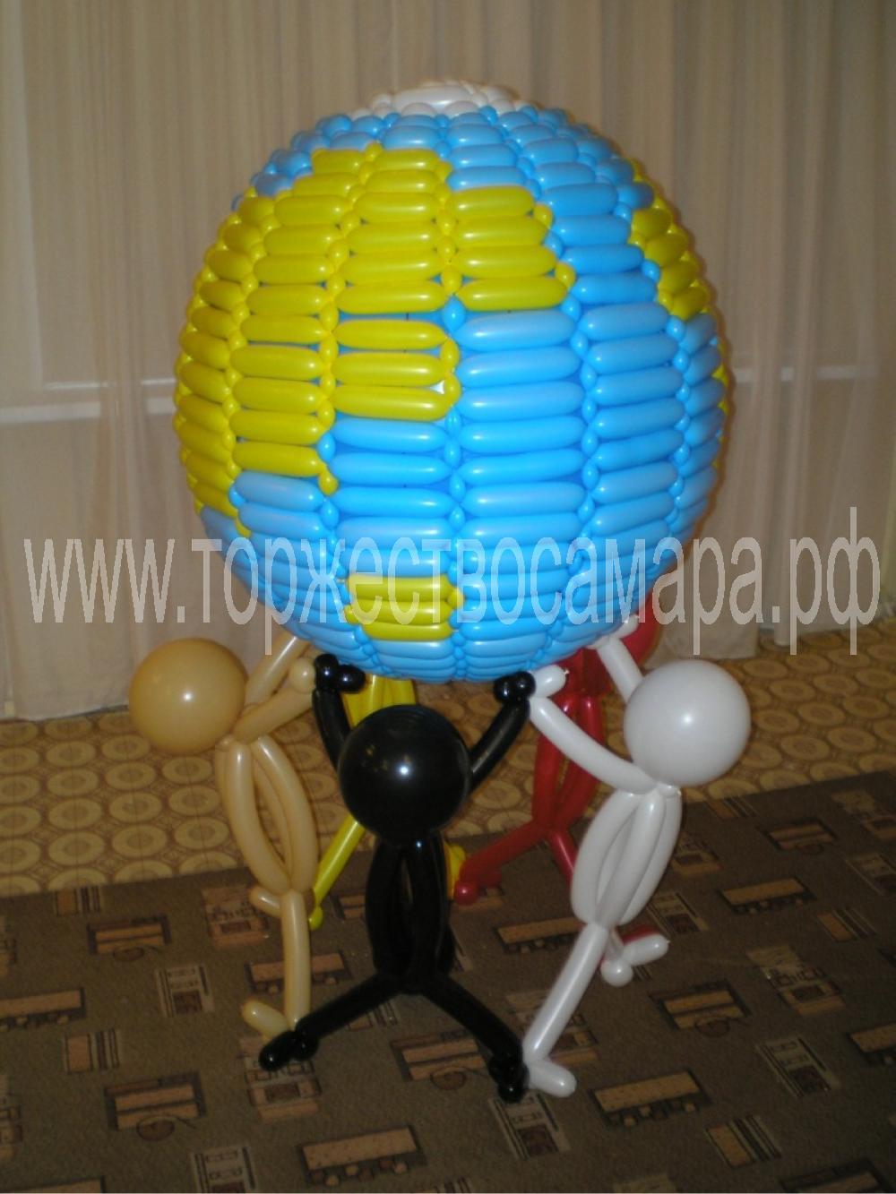Как из воздушного шара сделать шар