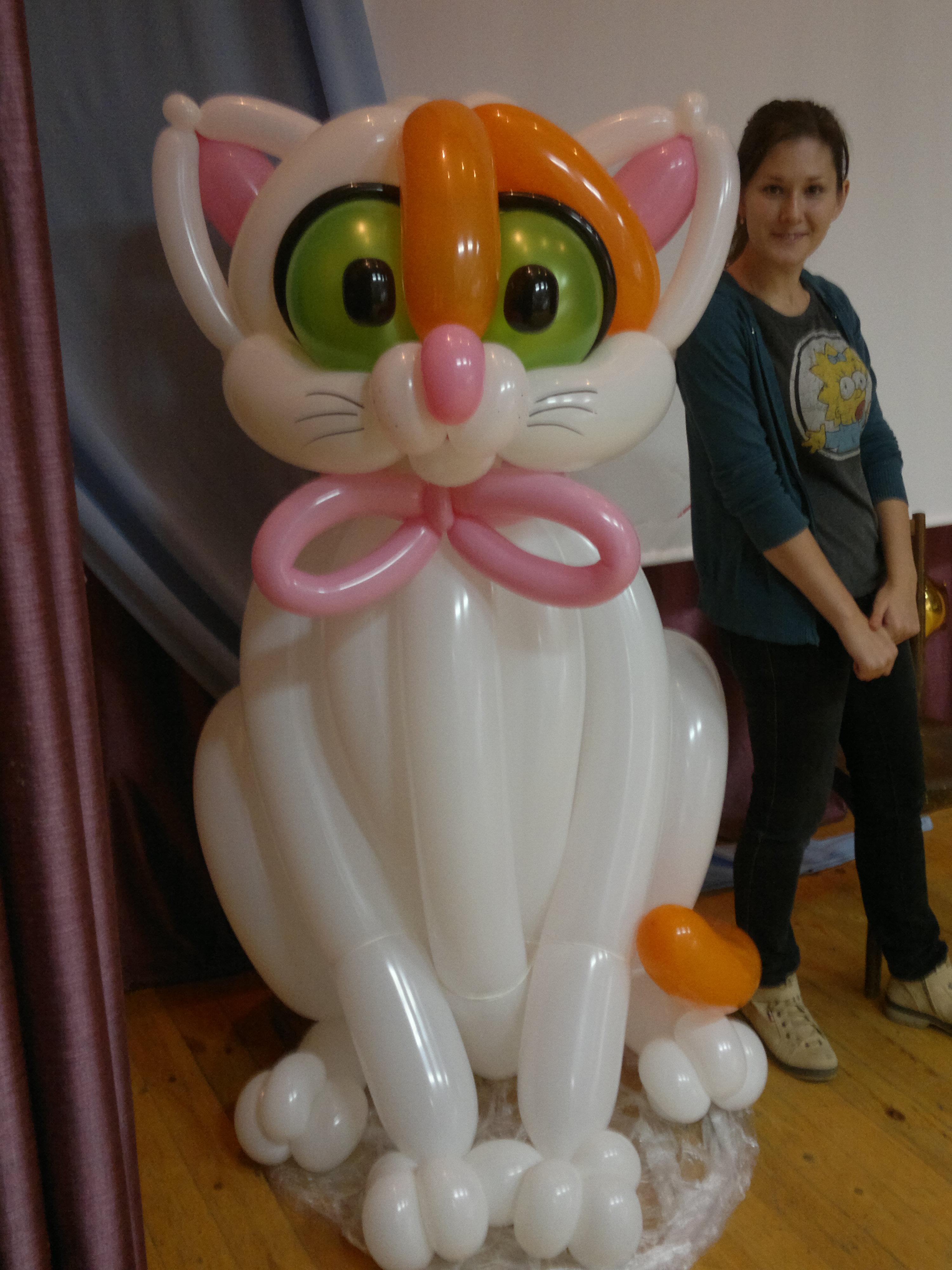 Фото мастер класс фигуры из шаров