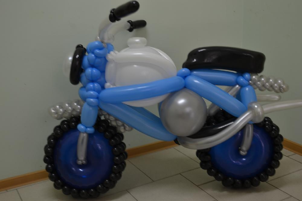 Квадроцикл из шаров своими руками 50
