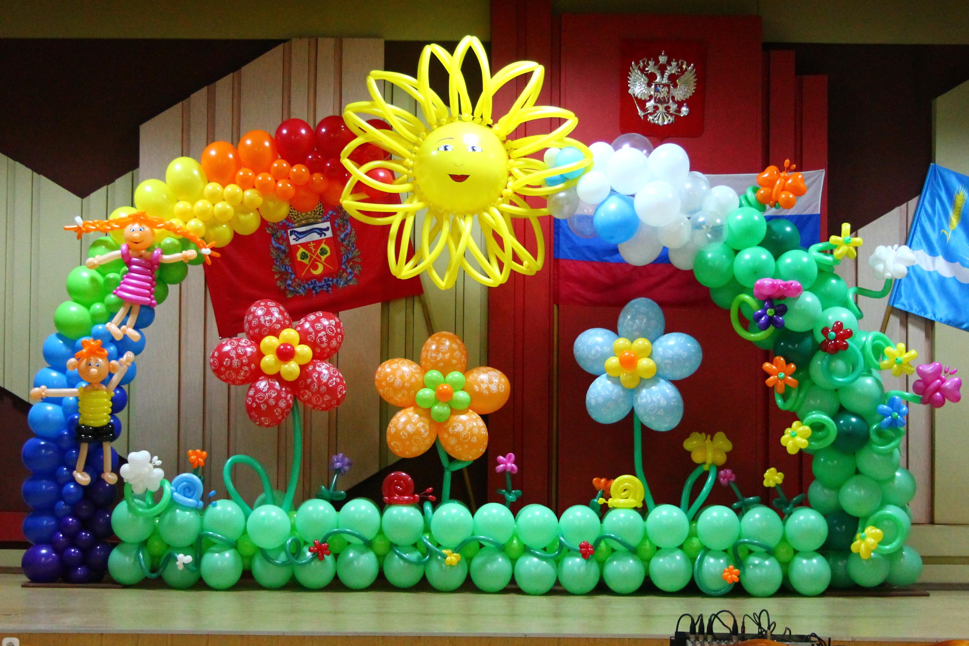 Оформление выпускных в детских садах воздушными шарами!!!  Могилёв - изображение 2. Организация праздников - Могилёв.