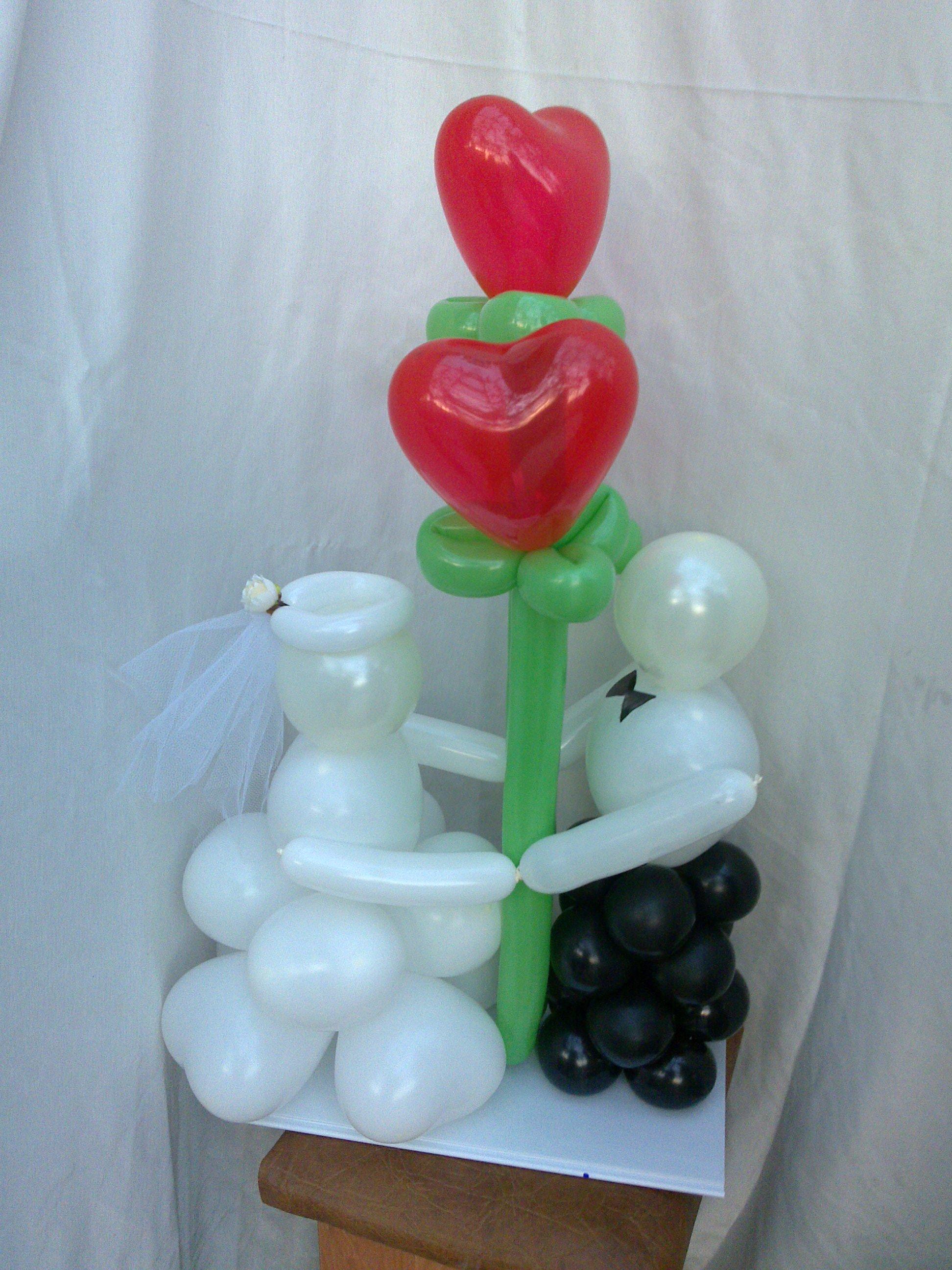 Фото подарки из воздушных шаров 22