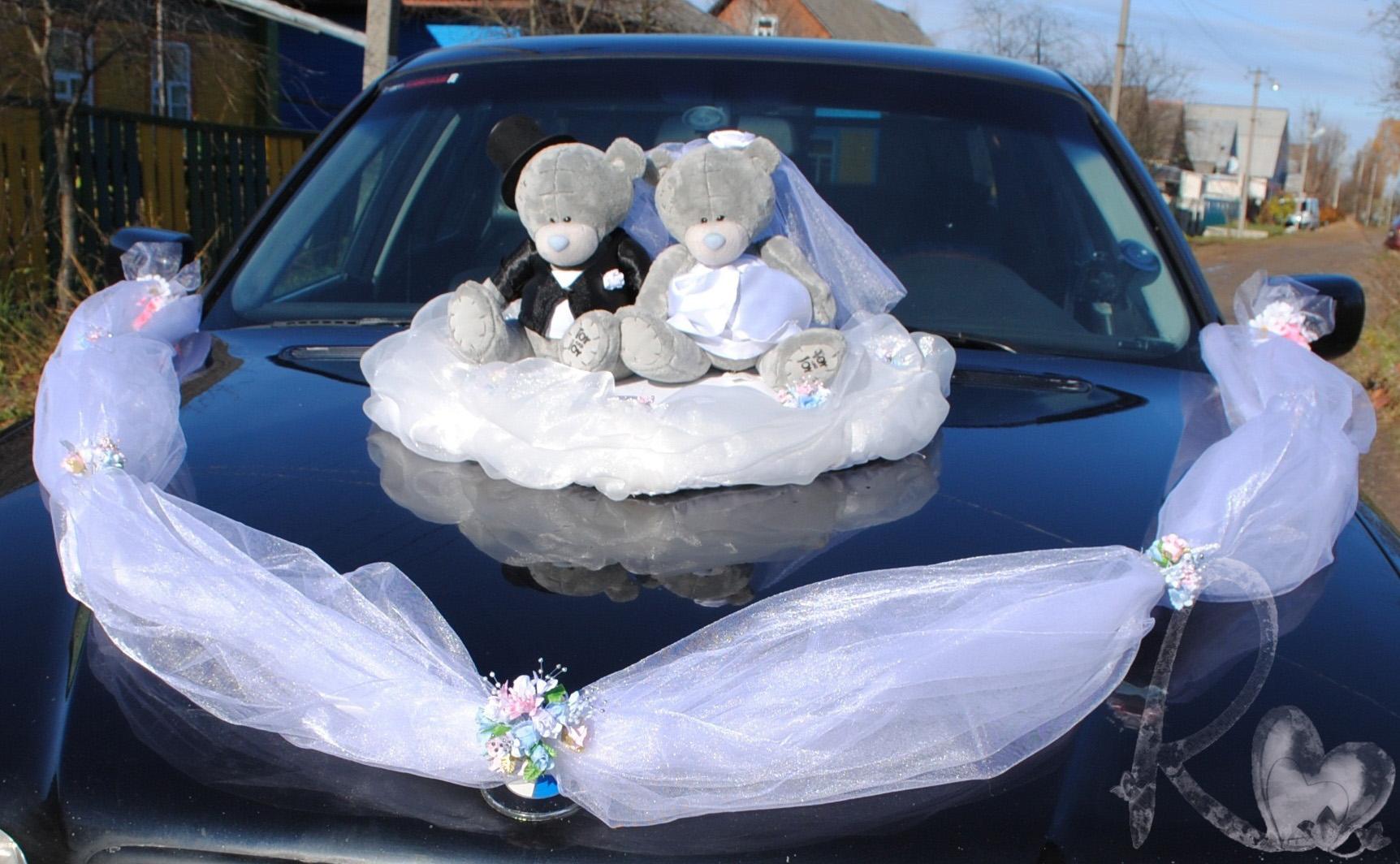 Украшения на свадебный кортеж своими руками мастер-класс
