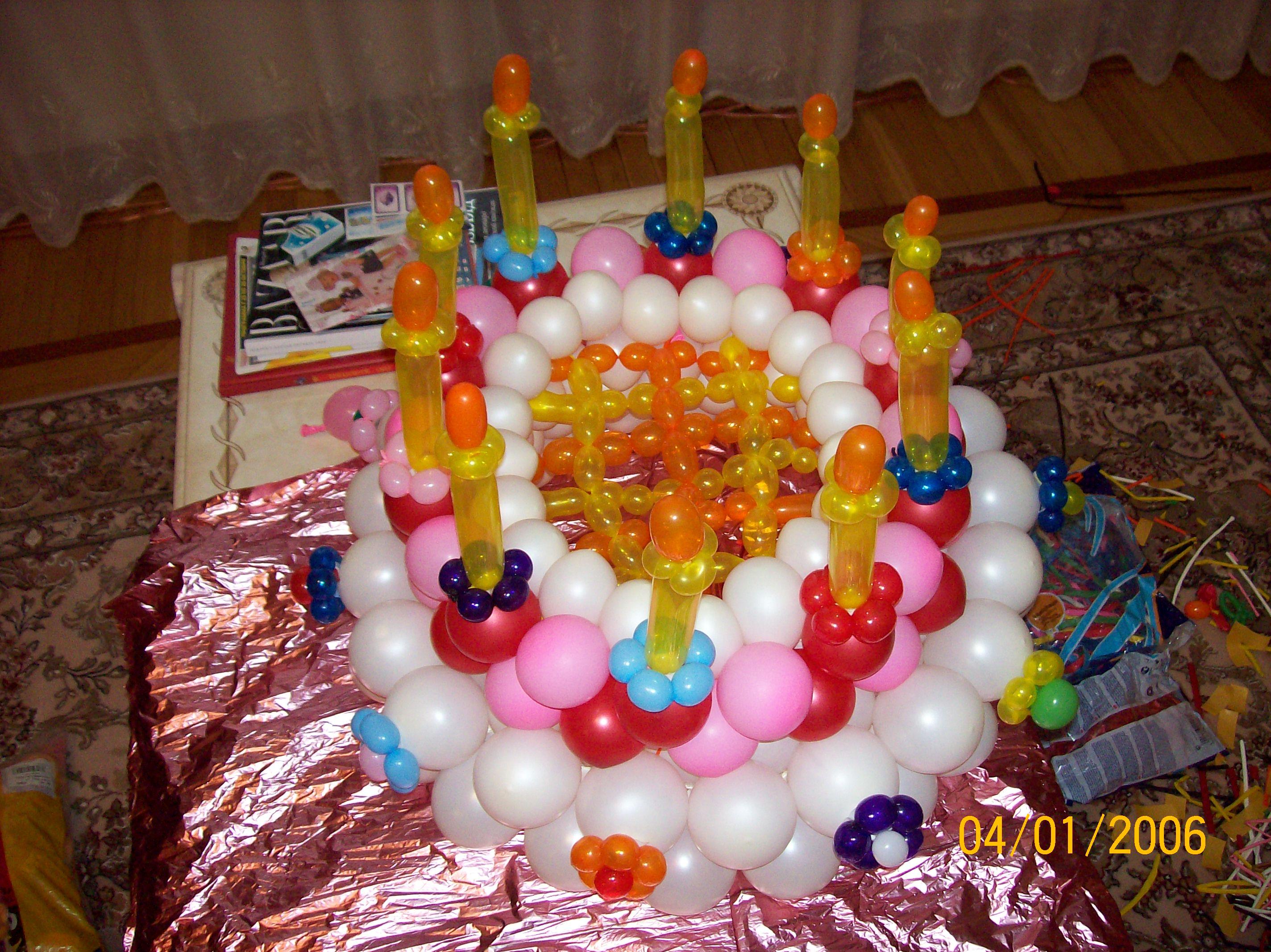 Подарки из воздушных шаров к дню рождения своими руками 47