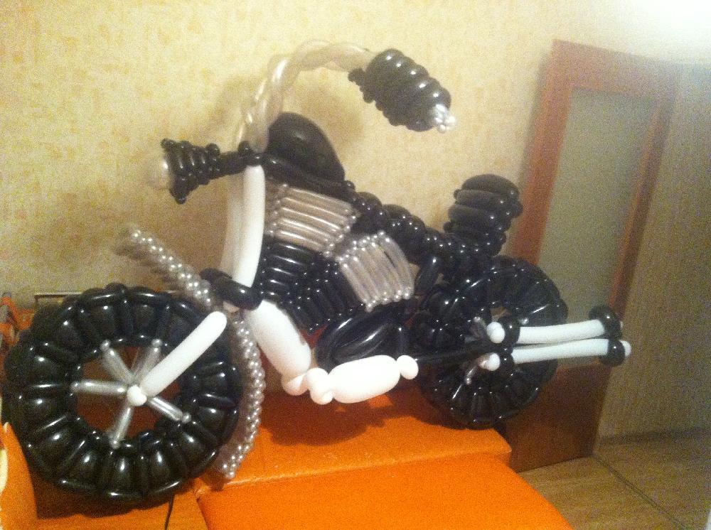 Квадроцикл из шаров своими руками 84