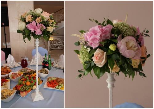 Как сделать композицию из цветов на свадьбу своими руками