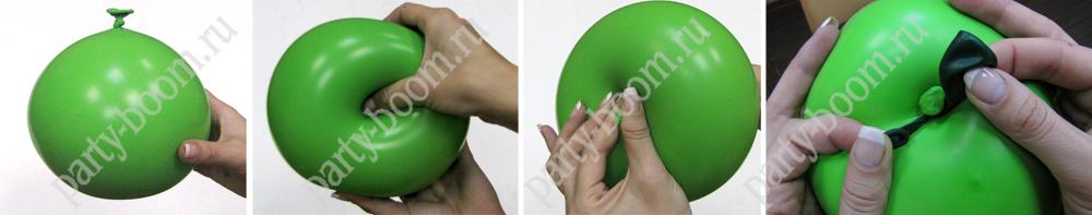 Как сделать тыкву из шариков 98